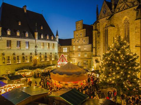 Am 25. November 2017 zum Weihnachtsmarkt nach Osnabrück 1. Klasse 1 Erw.