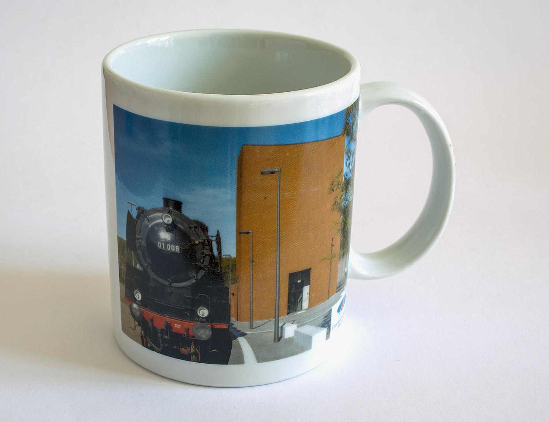 Kaffeebecher mit Motiven aus unserem Museum